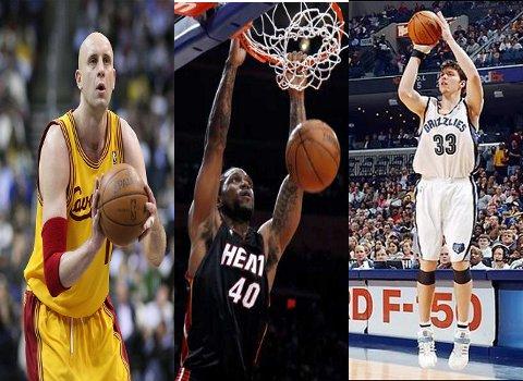 Ilgauskas, Haslem y Miller jugarán en los Miami Heat