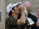 Open Británico de golf: Louis Oosthuizen se hace con el triunfo en Saint Andrews
