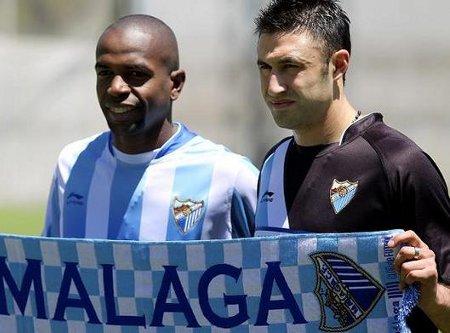 Malagueño y Silva son dos de las caras del remodelado Málaga