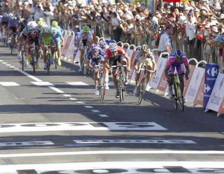 Alessandro Petacchi ganó el primer sprint masivo del Tour de Francia 2010