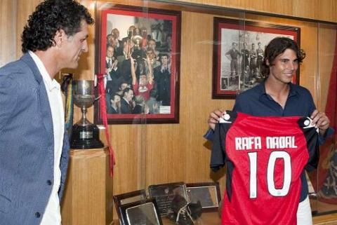 Rafael Nadal es nuevo accionista de Mallorca