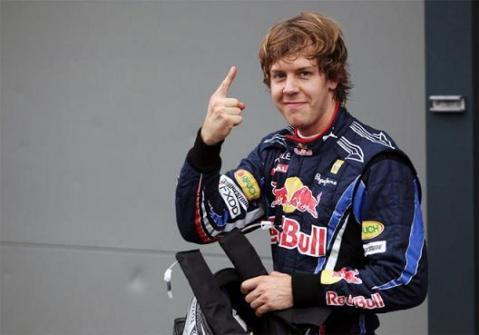 Sebastian Vettel consiguio la pole en Silverstone