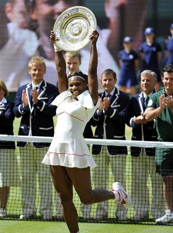 Serena Williams gana Wimbledon