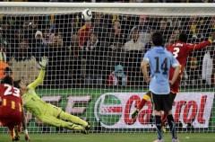 Mundial de Sudáfrica: los penaltis deciden el Uruguay – Ghana a favor de La Celeste