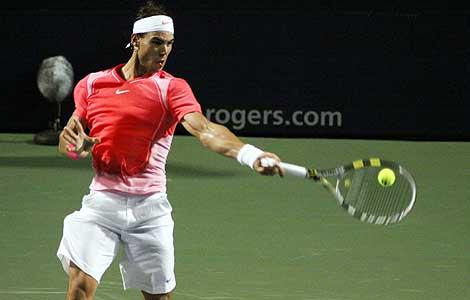 Masters de Canadá 2010: Rafa Nadal vence a Wawrinka, Verdasco y Querrey eliminados
