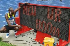 David Rudisha bate el record de los 800 metros en la reunión de Berlín