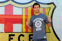 Javier Mascherano es el tercer fichaje del Barça para esta temporada