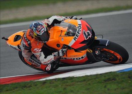 Dani Pedrosa ha logrado la pole position en Brno