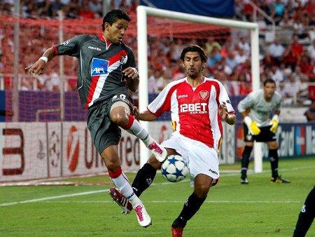 Liga de Campeones 2010/11: el Sevilla se despide en la fase previa tras volver a perder con el Braga