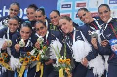 Europeos de natación: la sincronizada consigue dos medallas de plata