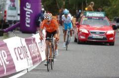 Vuelta a España 2010: Mosquera rompe la carrera y Antón se lleva la victoria y el liderato