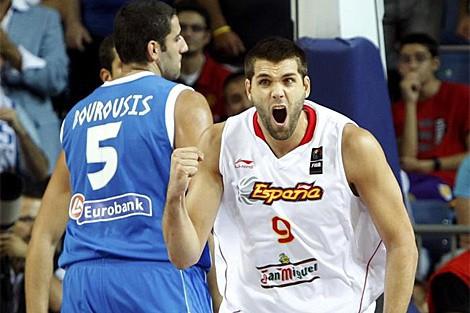 Mundobasket de Turquía 2010: Felipe Reyes viaja a Madrid para tratarse unos problemas cervicales