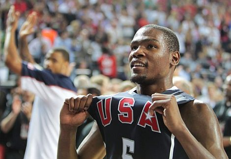 Kevin Durant se llevo el MVP del Mundobasket 2010