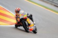 GP de Aragón de motociclismo: Stoner, Iannone y Márquez, los más rápidos en Motorland