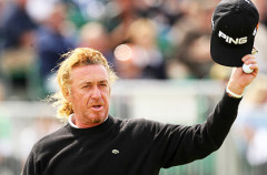 Miguel Ángel Jiménez lidera el Masters Europeo de golf tras la segunda jornada