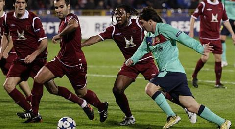 Liga de Campeones 2010/2011 (Jornada 2): el F.C. Barcelona sigue sin poder ganar al Rubin Kazan