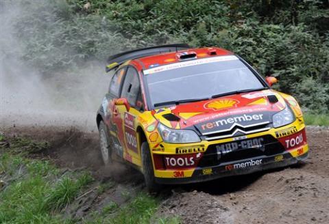 Rally de Japón: Petter Solberg, nuevo líder tras la primera jornada seria de competición