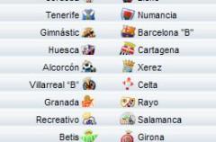 Liga Española 2010/11 2ª División: previa, horarios y retransmisiones de la Jornada 8