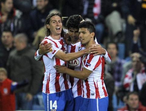 Copa del Rey 2010/11: Sevilla, Valencia y Atlético sentencian sus eliminatorias en una jornada sin sorpresas
