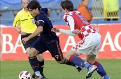 La sub 21 jugará el Europeo tras golear a Croacia a domicilio