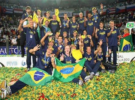 Brasil es campeona del mundo de voleibol