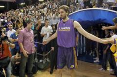Los Ángeles Lakers ya están en España para jugar el jueves ante Regal Barcelona