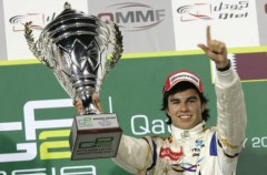 El mexicano Sergio Pérez tendrá un volante de Sauber en la temporada 2011