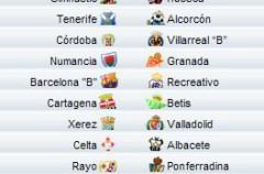 Liga Española 2010/11 2ª División: previa, horarios y retransmisiones de la Jornada 13