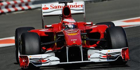 Fernando Alonso en los test con Pirelli de Abu Dhabi