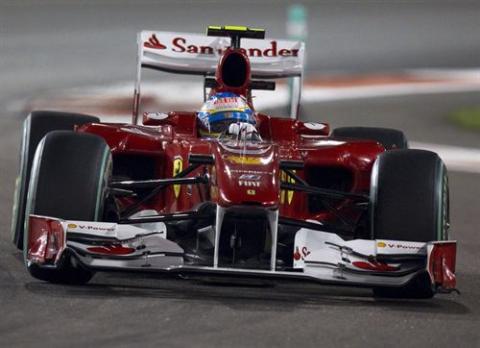 Ferrari en Abu Dhabi