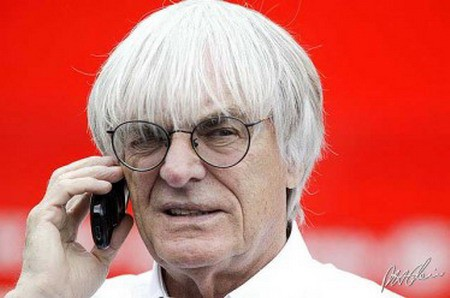 Bernie Ecclestone, maximo mandatario de la Formula 1