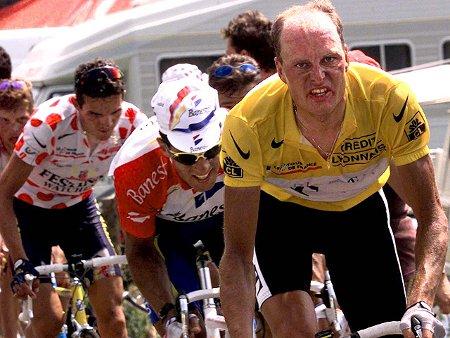 Bjarne Rijs confesó haberse dopado durante el Tour de 1996