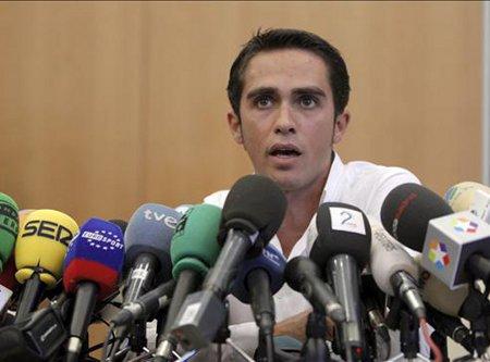 Alberto Contador está muy cerca de enfrentarse a una sanción por dopaje