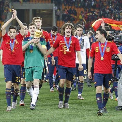 España en el Mundial de Sudafrica