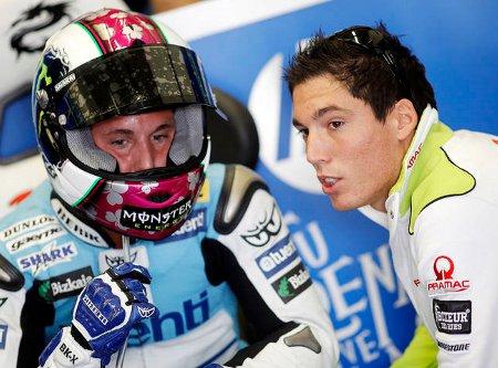 Pol y Aleix Espargaró serán rivales en Moto2