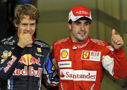 Fernando Alonso en YasMarina