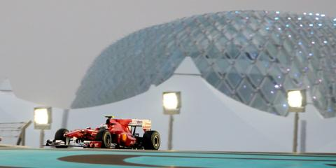 Ferrari en el GP de Abu Dhabi