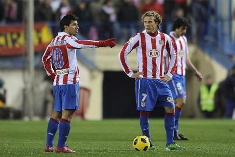 Forlan y Aguero
