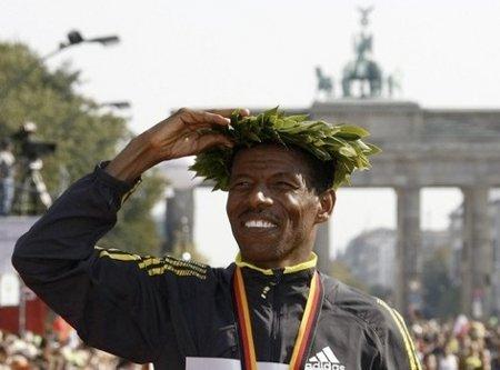 El etíope Haile Gebrselassie es uno de los mejores atletas de todos los tiempos