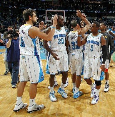 Los New Orleans Hornets están firmando un gran inicio de temporada