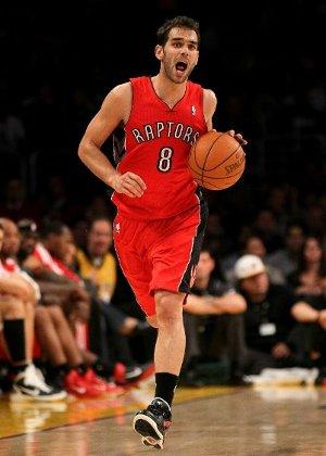José Calderón es el base suplente de Toronto Raptors