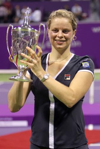 Kim Clijsters Doha gano el torneo de Maestras en Doha