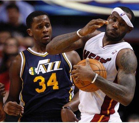 Los Miami Heat sufrieron su tercera derrota ante los Jazz