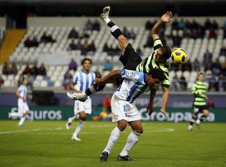 El Málaga ha eliminado al Hércules en la Copa del Rey