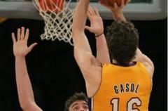 NBA: el primer duelo entre los hermanos Gasol se lo apunta Pau
