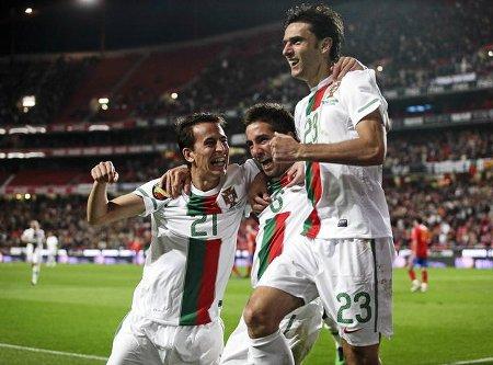Portugal goleó a España