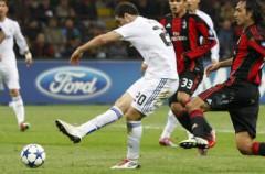 Liga de Campeones 2010/2011: el Real Madrid empata a dos en Milán gracias a un gol de Pedro León en el descuento