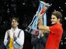 Torneo de Maestros 2010: Roger Federer gana el título derrotando en la final a Rafa Nadal