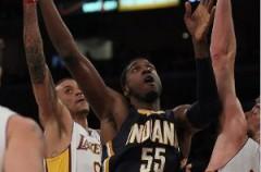 NBA: Roy Hibbert aplasta a los Lakers en una mala noche para los españoles