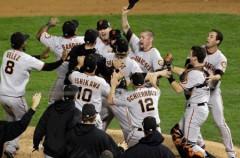 Los Giants de San Francisco ganan las Series Mundiales de beisbol